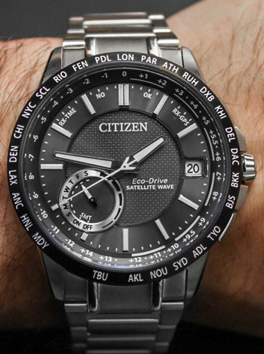 citizen eco drive satellite wave instructions